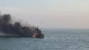 Çin'de iki gemi çarpıştı!