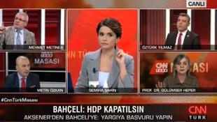 Canlı yayında teröristbaşı Öcalan'a ''sayın'' dedi, ortalık karıştı!