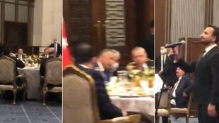 Cumhurbaşkanlığı'nda tepki çeken görüntüler!