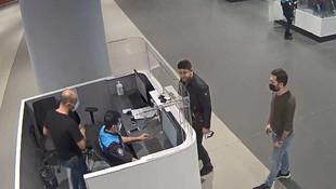 Ölmüş kişinin pasaportuyla Türkiye'ye girerken yakalandı