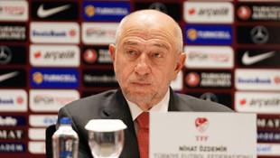 TFF Başkanı Özdemir'den naklen yayın açıklaması