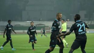 Trabzonspor yine yenilmedi: Hatayspor - Trabzonspor: 0-1