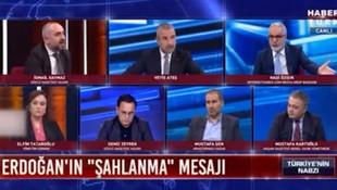 İsmail Saymaz ile Hadi Özışık arasında ''terörist'' tartışması