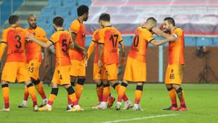 Galatasaray, Trabzonspor'u Trabzon'da yıktı!