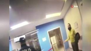 Taksim'de saldıran turist, hastaneyi de birbirine kattı!