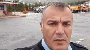 Mersin'de kap krizi geçiren polis yaşamını yitirdi