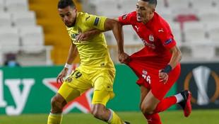 Sivasspor turu zora soktu: Sivasspor 0-1 Villarreal