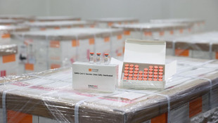 Türkiye'ye getirilen aşılar böyle saklanıyor