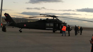 Sabiha Gökçen Havalimanı'nda korkutan helikopter kazası