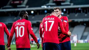 Lille, Burak Yılmaz'ın golleriyle kazandı
