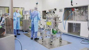 Pfizer-BioNTech'in dünyaya umut olan aşılarının üretim süreci görüntülendi