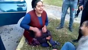 4 yaşındaki çocuk başından vuruldu! Anne ve babanın yürek yakan feryadı