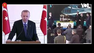 Erdoğan'ın katıldığı törende kriz! ''Hakkımızı helal etmiyoruz''