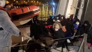 Yunanistan'ın ölüme ittiği 69 sığınmacı kurtarıldı