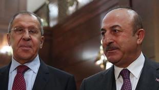 Dışişleri Bakanı Çavuşoğlu, Rus mevkidaşı ile görüştü