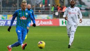 Süper Lig: Çaykur Rizespor: 0 - Beşiktaş: 0 (Maç devam ediyor)