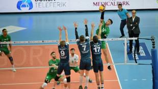 Bursa Büyükşehir Belediyespor - Tokat Belediye Plevne: 3-0