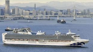 Yolcu gemisinde 70 yolcuya korona virüsü karantinası