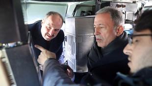 Bakan Akar, Varank ve MİT Başkanı Fidan'dan sürpriz ziyaret