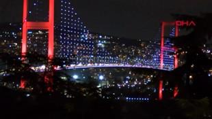 İstanbul dün gece mora boyandı!