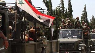 Suriye ordusu kritik bölgeyi ele geçirdi