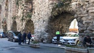 İstanbul'un tarihi su kemeri otopark oldu