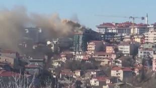 Üsküdar'da yangın paniği