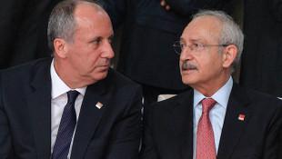 Kılıçdaroğlu ve Muharrem İnce bir araya geldi
