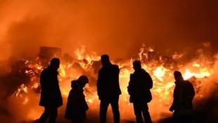 2 gündür alev alev yanıyor! Fabrika yangını söndürülemiyor
