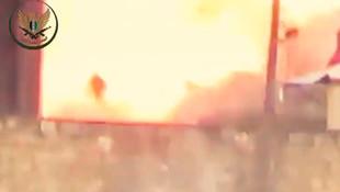 SMO, Esed'ın askerlerini işte böyle havaya uçurdu