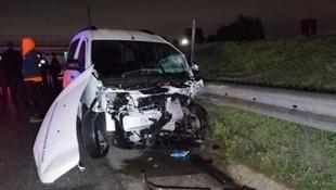 TEM'de korkunç kaza: 2 ölü