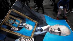 İstikal Caddesi'nde ''Putin'' gerginliği