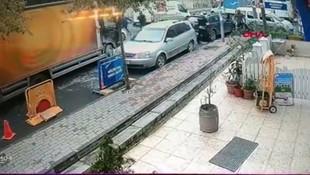 İstanbul'da lüks cipe silahlı saldırının görüntüleri ortaya çıktı