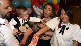 Alişan'dan oğluna 200 bin TL'lik doğum günü partisi