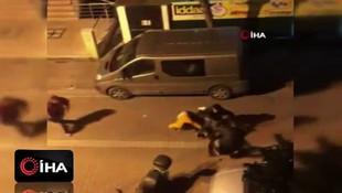 İstanbul'da döner bıçakları, sopalar ve sandaleyler havada uçuştu!