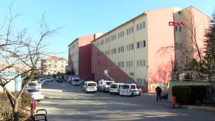 Ankara'da lisede dehşet anları