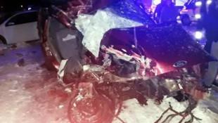 Bitlis'te feci kaza ! Ölü ve yaralılar var