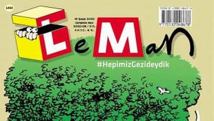 LeMan'dan Gezi kapağı: #HepimizGezideydik