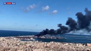 Libya Ulusal Ordusu: ''Türkiye'ye ait gemiyi yok ettik''
