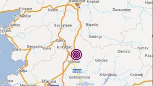 Manisa'da 4.6 ve 4.0 büyüklüğünde deprem