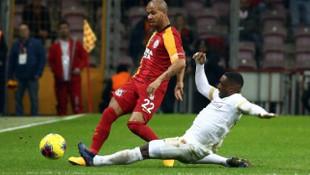 Süper Lig: Galatasaray: 2 - Kayserispor: 0 (İlk yarı)