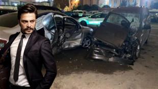 Ünlü oyuncu Ahmet Kural trafik kazası geçirdi