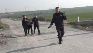 Servis şoförüne taciz dayağı ! Polis yarı çıplak halde yakaladı
