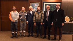 Şişli Belediye Başkanı Keskin'den kahraman işçilere ödül