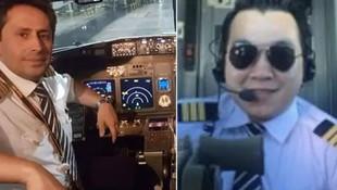 Pegasus uçağının pilotunun beyninde tümör çıktı