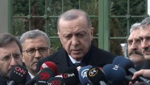 Erdoğan'dan flaş İdlib açıklaması: Ateşkesi ancak bu şekilde yapabiliriz