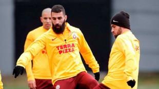 Galatasaray, derbi hazırlıkları sürüyor