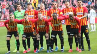 Kayserispor 11 yabancıyla oynadı