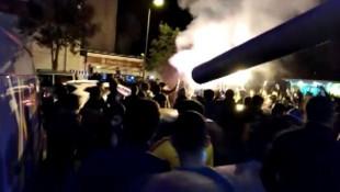 Fenerbahçe - Galatasaray taraftarları arasında kavga çıktı