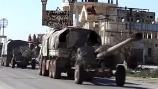 Rusya Esad rejiminina büyük kalibreli toplar gönderdi
